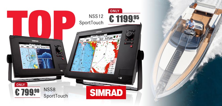 Simrad NSS8 & NSS12