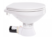 On-Board Toilet QUIET FLUSH / Comfort / Seawater Pump / 12 V / Soft-close Lid